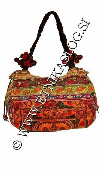 EMBROIDERED SHOULDER BAGS BS-THD14-02 - Oriente Import S.r.l.