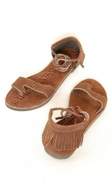 SANDALS IN LEATHER SN-AP04 - Oriente Import S.r.l.