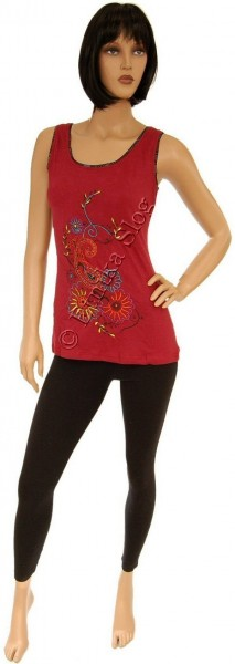 T-SHIRT - WOMAN EMBROIDERY AB-BST11-BO - Oriente Import S.r.l.
