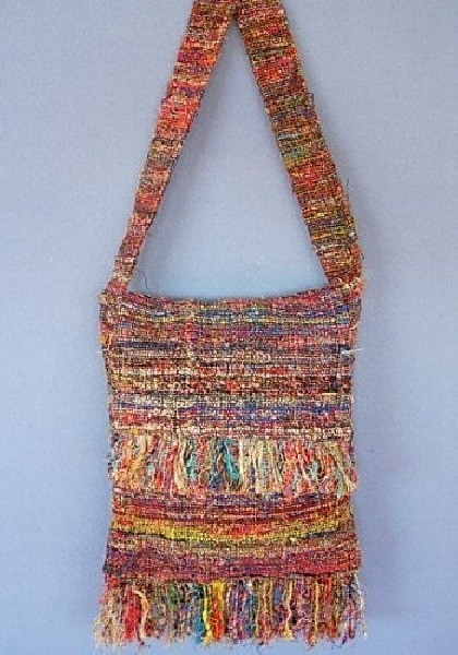 RECYCLED SILK BAGS BS-CS07 - Oriente Import S.r.l.