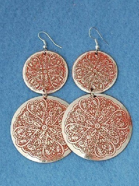 EARRINGS - METAL MB-ORC04-01 - Oriente Import S.r.l.