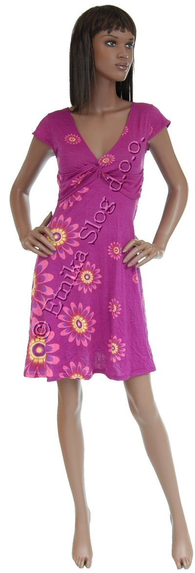 SUMMER JERSEY DRESSES WITH SHORT SLEEVES AB-MRS208AS - Oriente Import S.r.l.