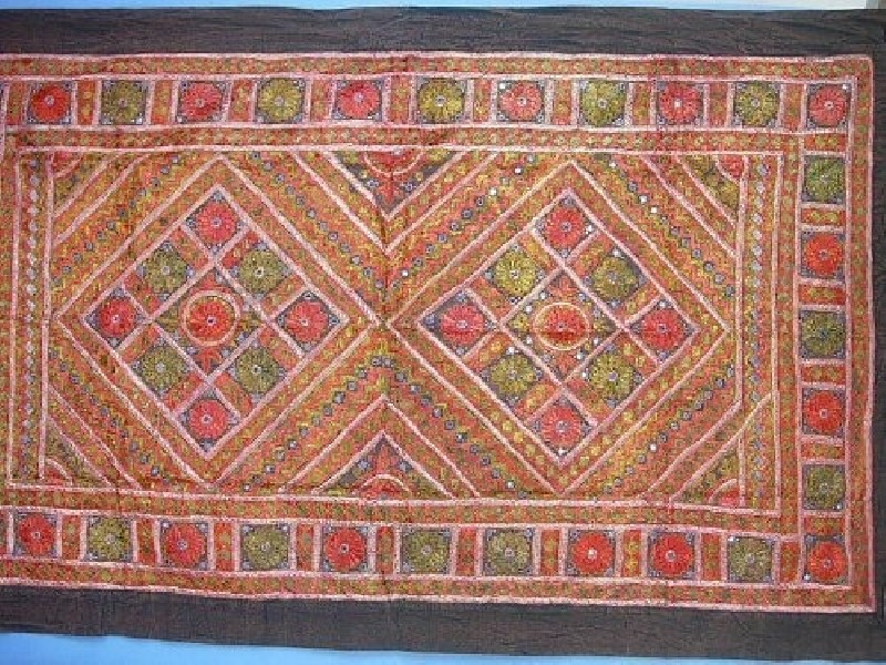 EMBROIDERED TAPESTRY AR-GRI02-1 - Oriente Import S.r.l.