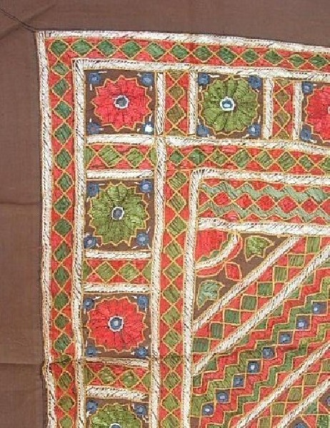 EMBROIDERED TAPESTRY AR-GRI02-3-1 - Oriente Import S.r.l.