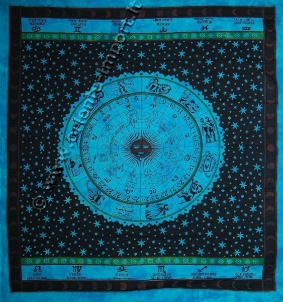 COPRILETTO TELI INDIANI GRANDI TI-G01-08 - Oriente Import S.r.l.