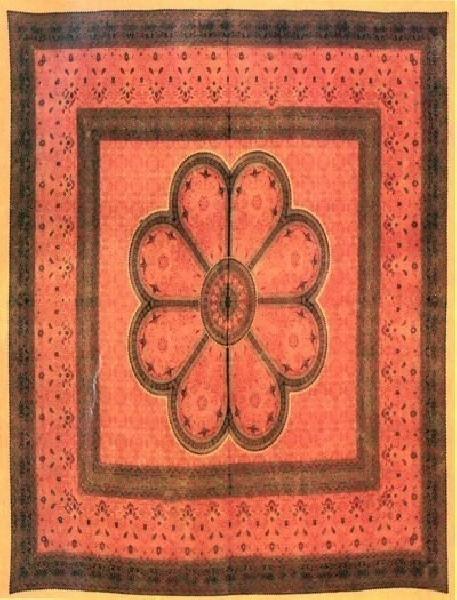 COPRILETTO TELI INDIANI GRANDI TI-G01-13 - Oriente Import S.r.l.