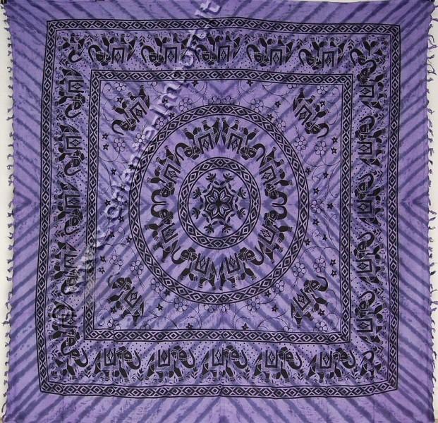 COPRILETTO TELI INDIANI GRANDI TI-G01-23 - Oriente Import S.r.l.