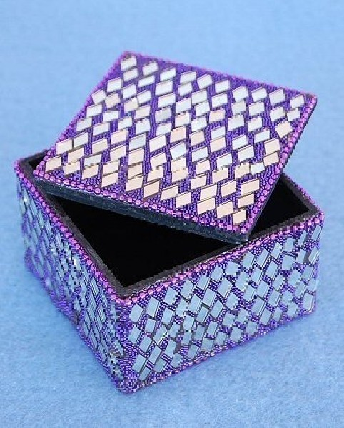 BOXES WITH MIRRORS AND GLITTER OG-BX01-01 - Oriente Import S.r.l.