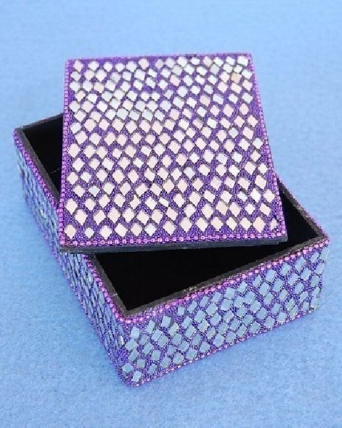 BOXES WITH MIRRORS AND GLITTER OG-BX02-01 - Oriente Import S.r.l.