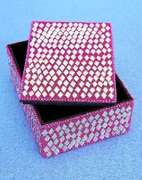 BOXES WITH MIRRORS AND GLITTER OG-BX02-03 - Oriente Import S.r.l.