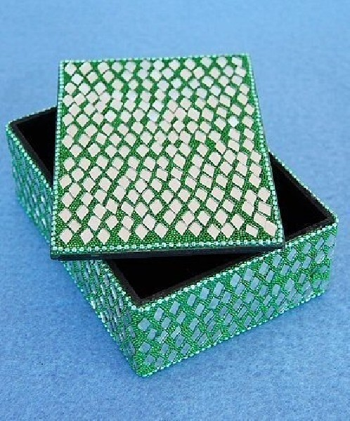 BOXES WITH MIRRORS AND GLITTER OG-BX02-04 - Oriente Import S.r.l.