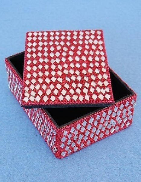 BOXES WITH MIRRORS AND GLITTER OG-BX02-05 - Oriente Import S.r.l.