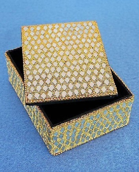 BOXES WITH MIRRORS AND GLITTER OG-BX02-06 - Oriente Import S.r.l.