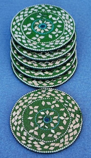 GLASS COASTERS OG-SB02-02 - Oriente Import S.r.l.