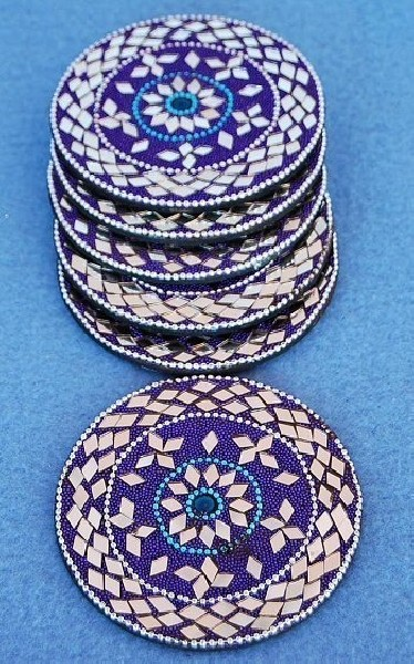 GLASS COASTERS OG-SB02-04 - Oriente Import S.r.l.