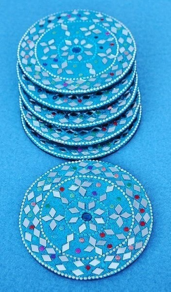 GLASS COASTERS OG-SB03-03 - Oriente Import S.r.l.