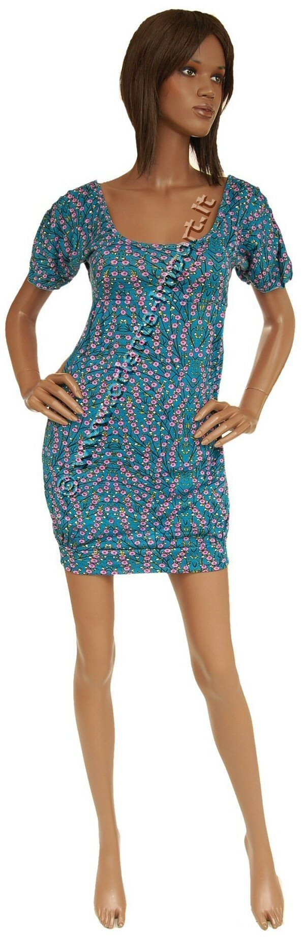 SUMMER JERSEY DRESSES WITH SHORT SLEEVES AB-MRS004M - Oriente Import S.r.l.