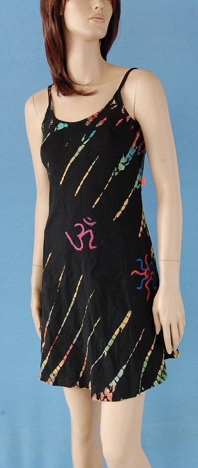 SHORT SLEEVE AND SLEEVELESS COTTON DRESSES AB-UFV02 - Oriente Import S.r.l.