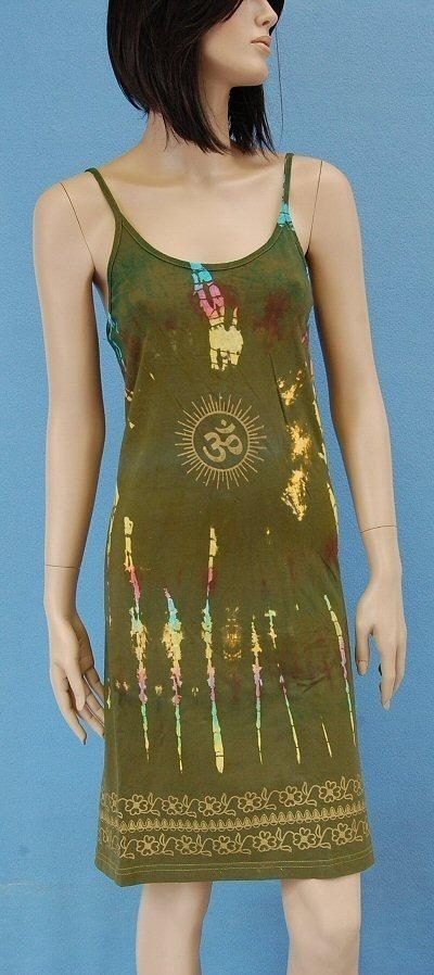 SHORT SLEEVE AND SLEEVELESS COTTON DRESSES AB-UFV03 - Oriente Import S.r.l.
