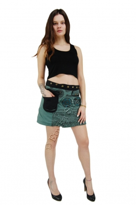 MINI SKIRTS WITH BUM BAGS