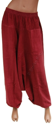 VELVET AND LINED TROUSERS