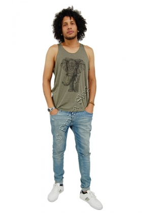 MAN'S TANK TOP - COTTON AND POLYESTER