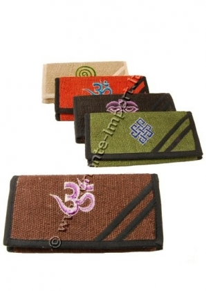 PURSES AND WALLETS IN HEMP